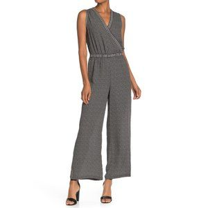 Max Studio Black Sleeveless Jumpsuit